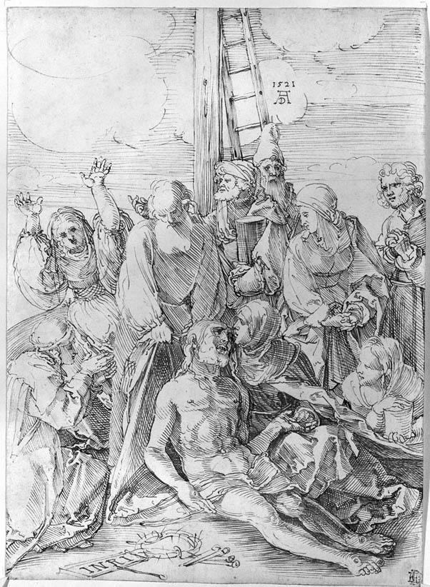 The Lamentation of Christ (1521-b)