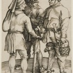 Three Peasants in Conversation (c. 1498)