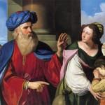 Abramo ripudia Agar e Ismaele (1657)