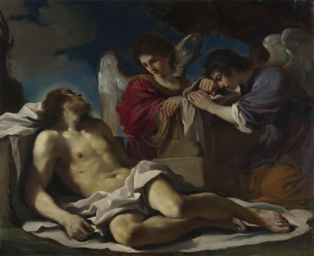 Cristo morto compianto dagli angeli (1617-1618)