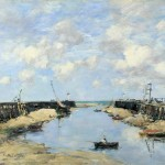 Entrée du port de Trouville (1888)