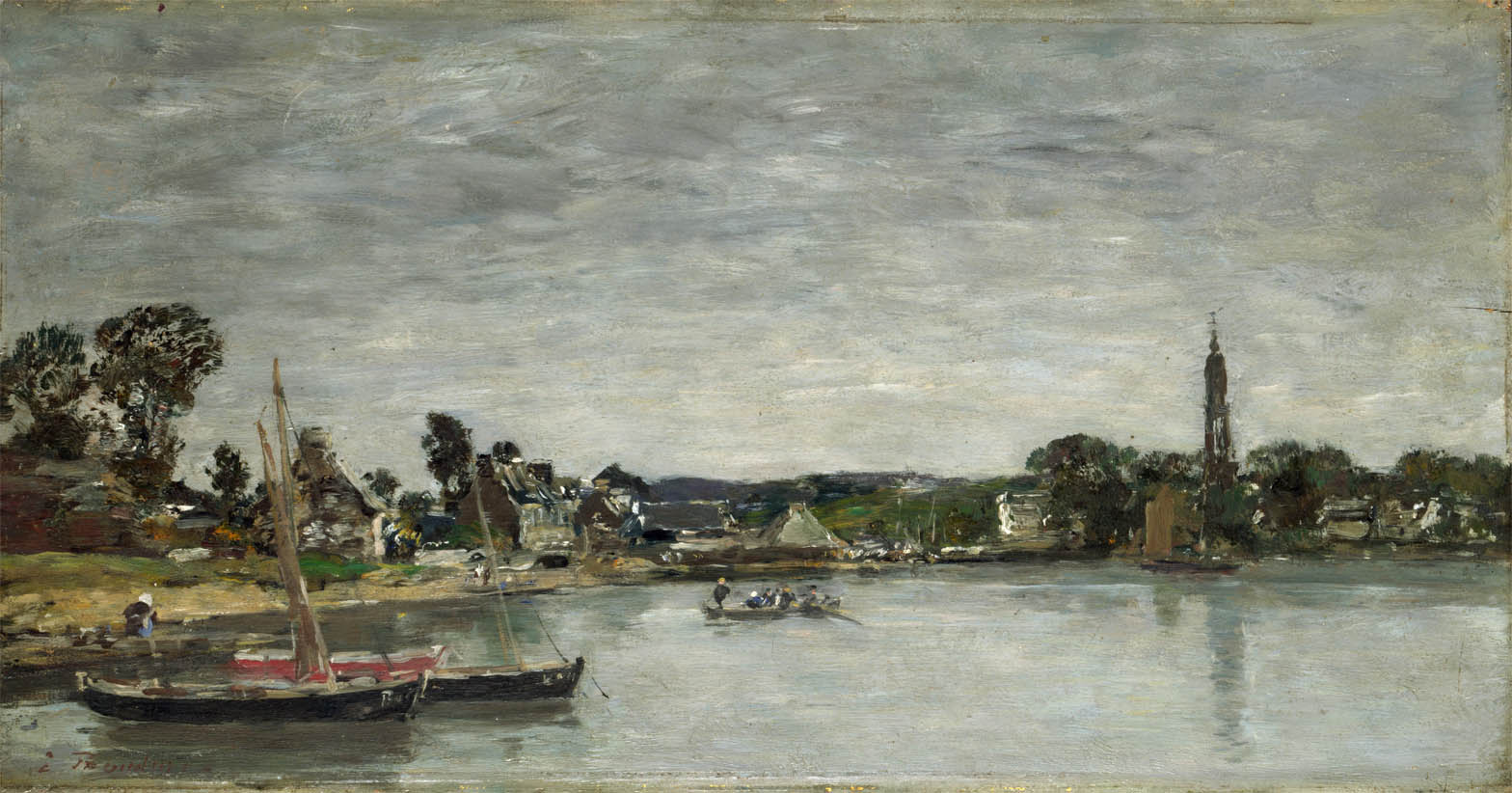 Hôpital-Camfrout, Bretagne (1870-1872)