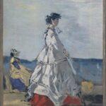 La princesse Pauline de Metternich sur la plage (1865-1867)