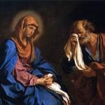 La vergine con san Pietro piangente (1647)