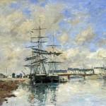 Le Port de Deauville (1888-1890)
