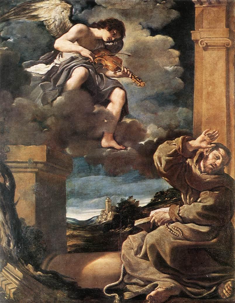 L'estasi di San Francesco (1623-1625)