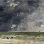 Plage à Trouville (1890s)