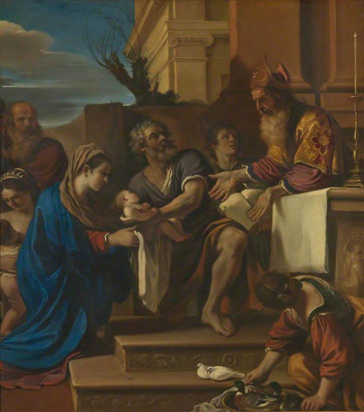Presentazione di Gesù al Tempio (1623)