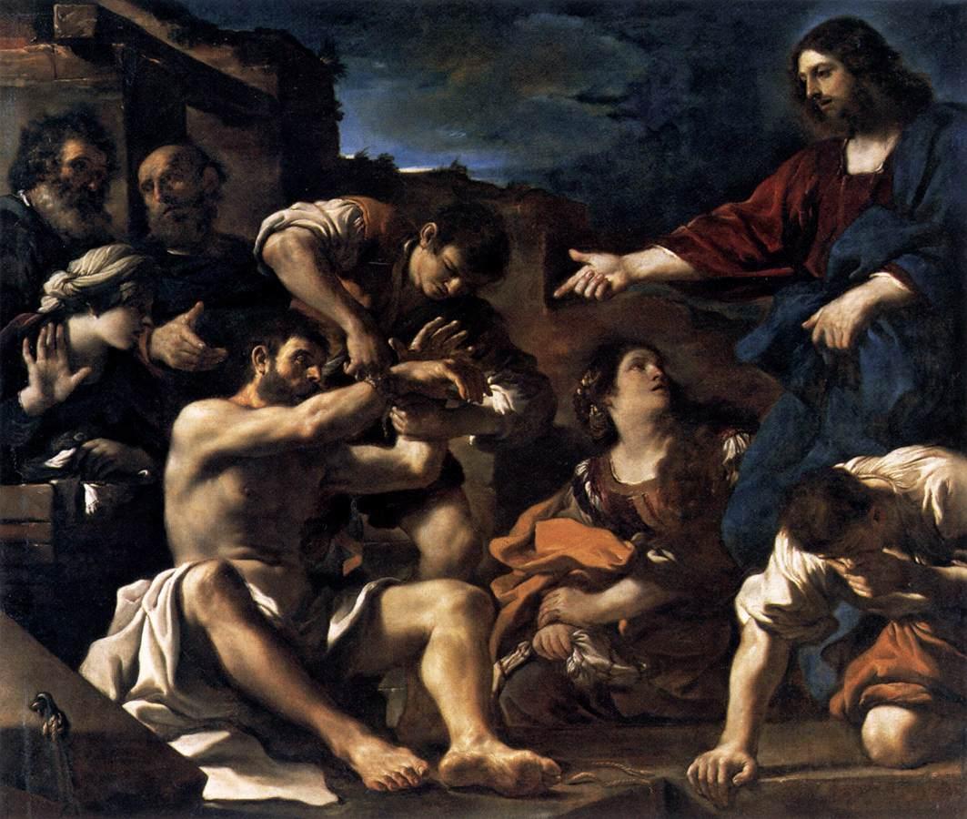 Resurrezione di Lazzaro (c. 1619)