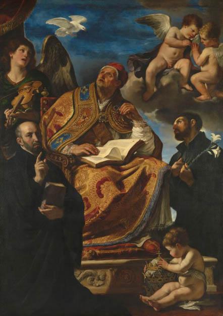 San Gregorio e Santi (1625-1626)