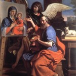 San Luca dipinge la Vergine (1652-1653)