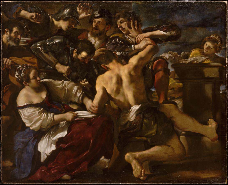 Sansone catturato dai filistei (1619)