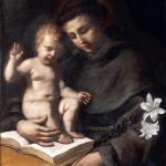 Sant'Antonio da Padova col Bambino Gesù (1656)
