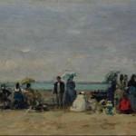 Scène de plage à Trouville (1870-1874)