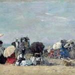 Scène de plage à Trouville (1873)