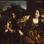 Semiramide riceve la notizia della rivolta di Babilonia (1624)