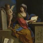 Sibilla Cumana con putto (1651)