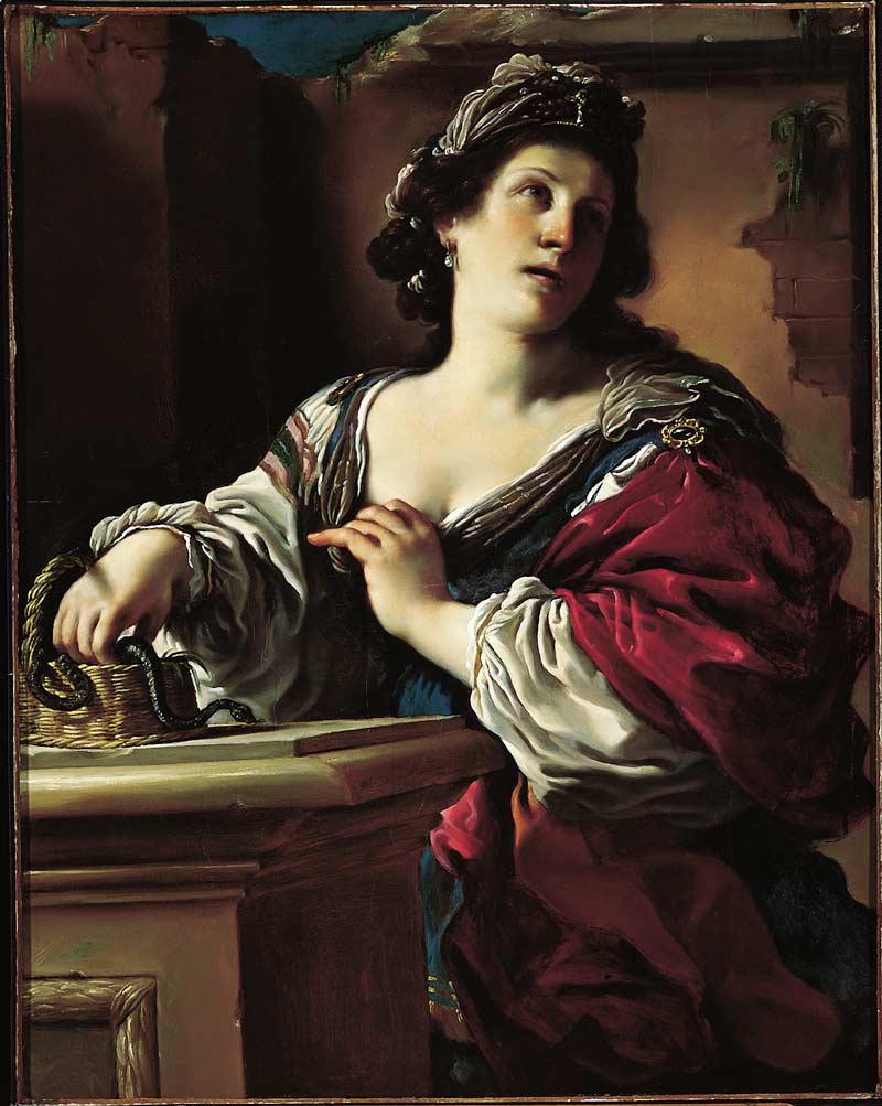 Suicidio di Cleopatra (c. 1621)