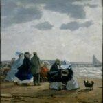 Sur la plage, Dieppe (1864)