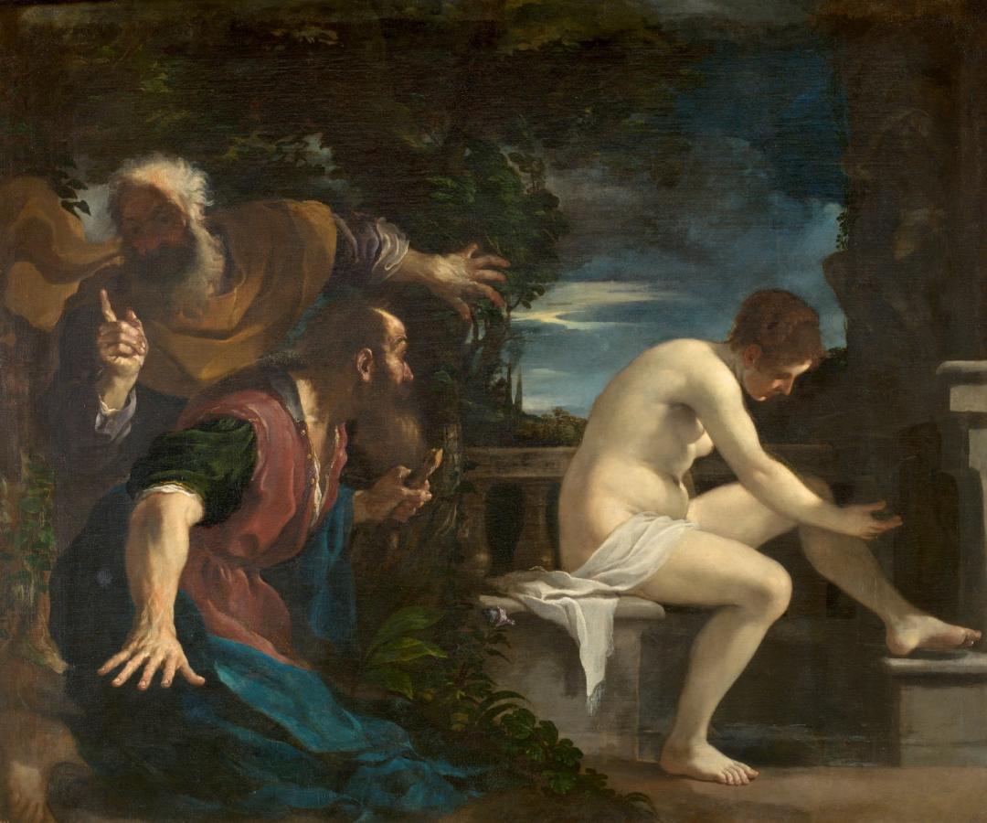 Susanna e i vecchioni (1617)
