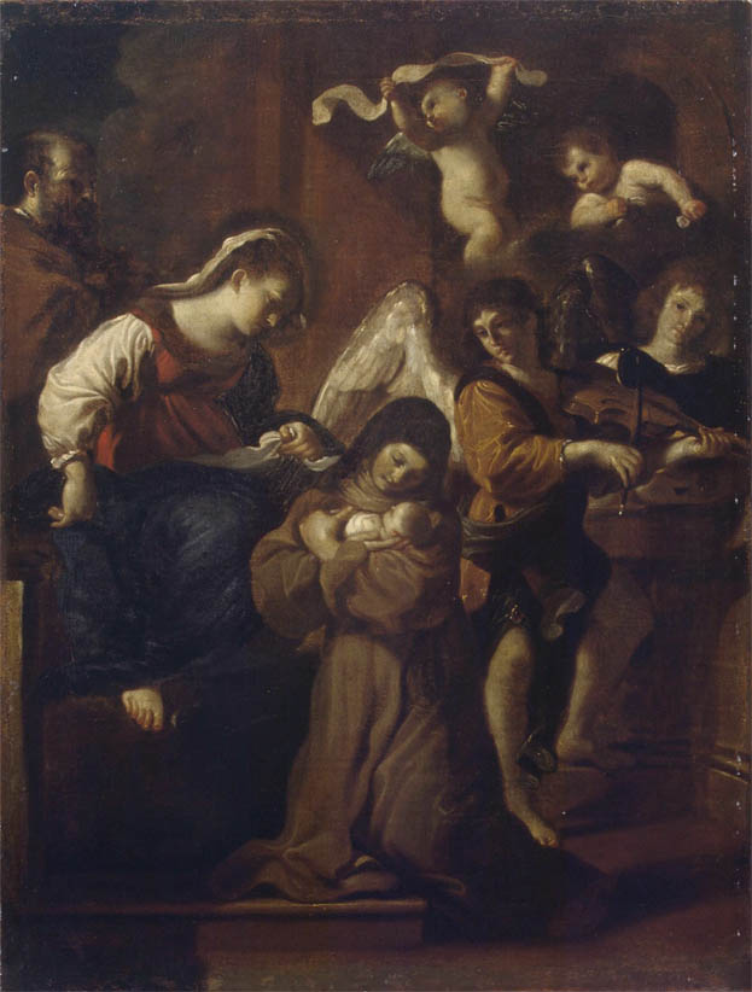 Visione di santa Chiara (1615-1621)