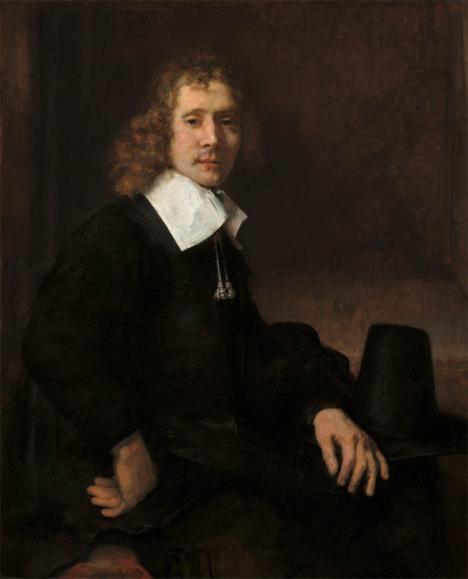 A Young Man Seated at a Table (c. 1660)