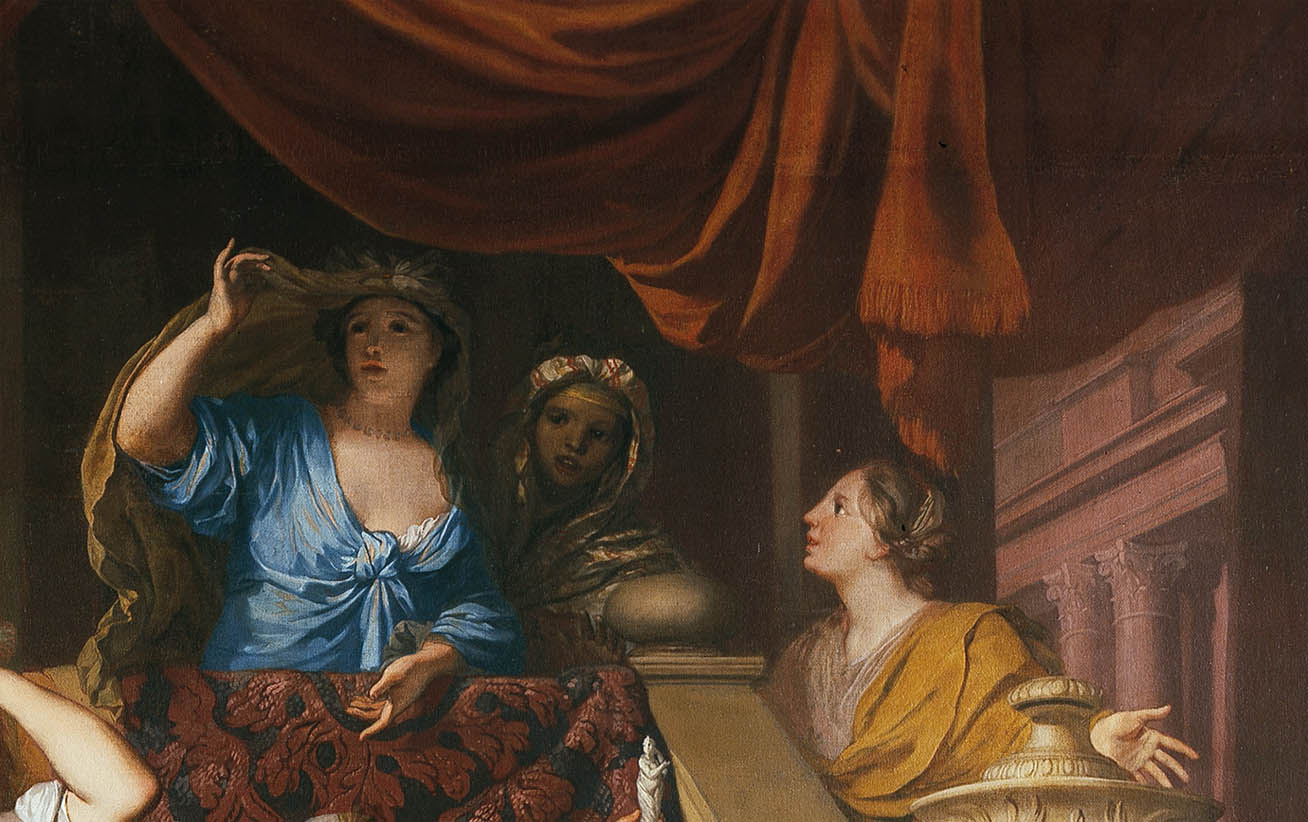 Achilles Discovered among the Daughters of Lycomedes (c 1680-d-1)
