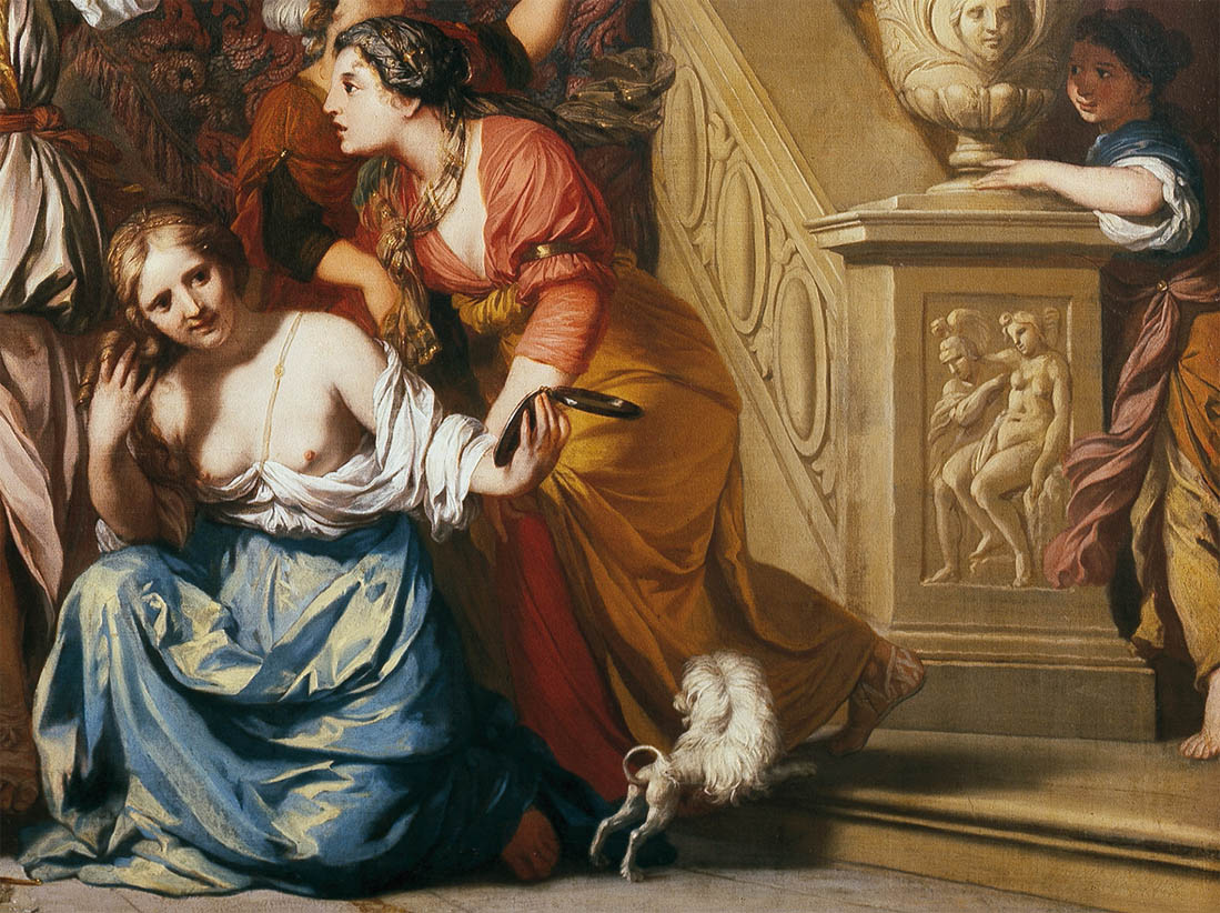 Achilles Discovered among the Daughters of Lycomedes (c 1680-d-2)