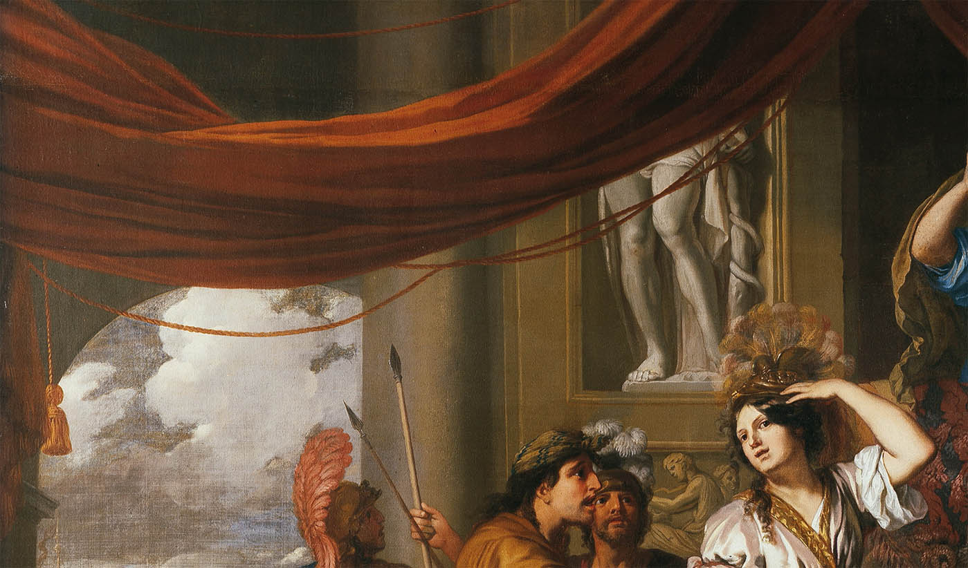 Achilles Discovered among the Daughters of Lycomedes (c 1680-d-3)