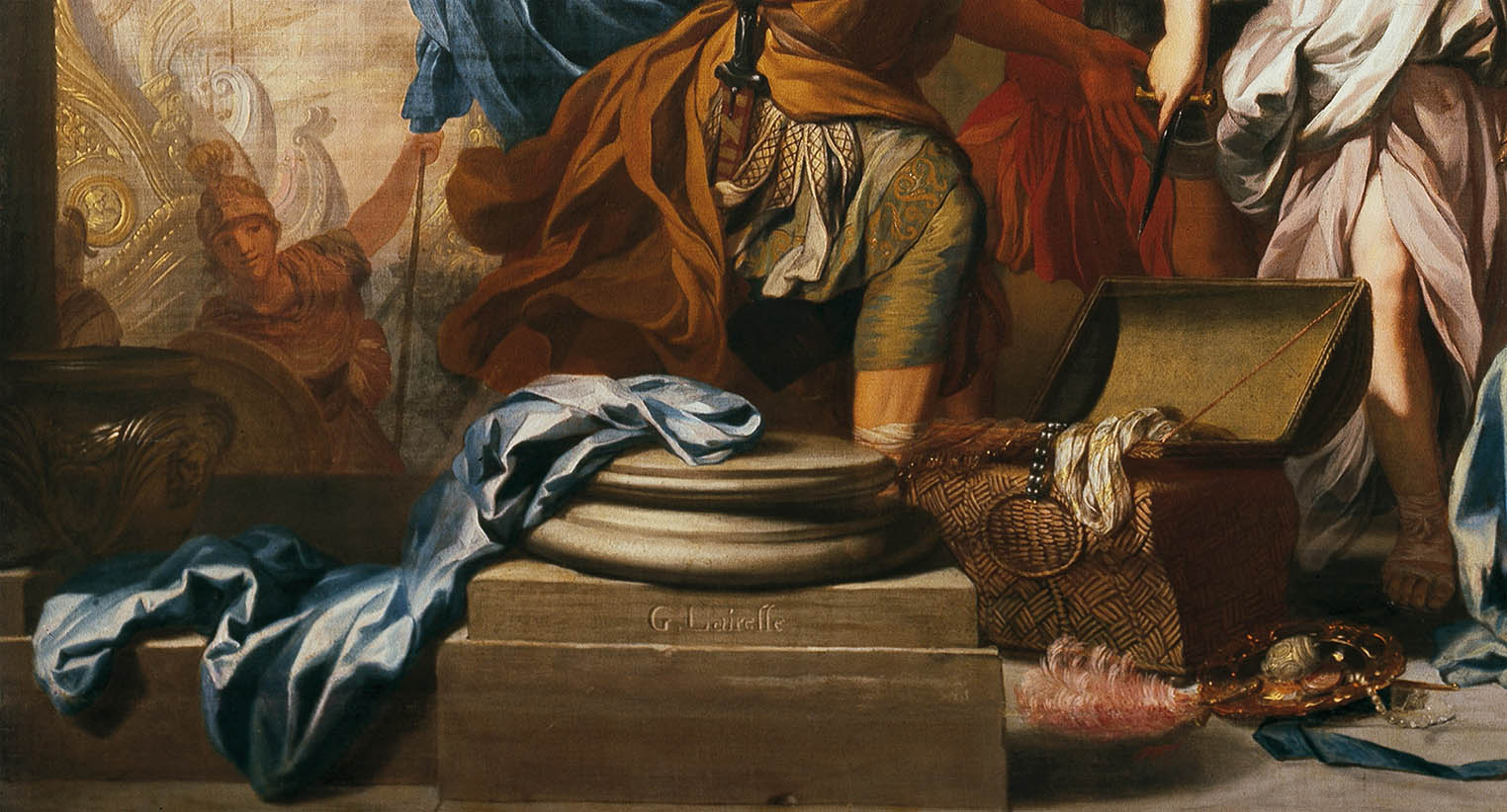 Achilles Discovered among the Daughters of Lycomedes (c 1680-d-4)