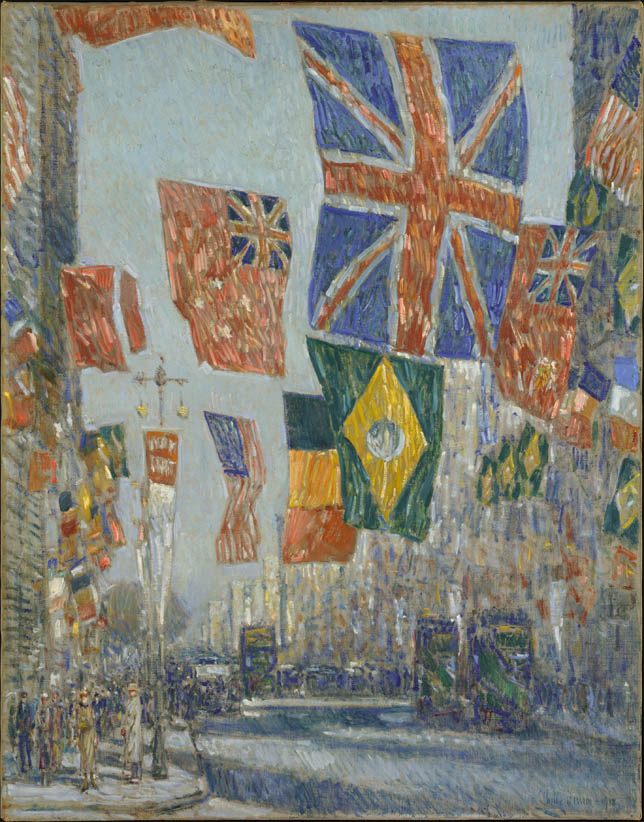 Avenue of the Allies, Great Britain (1918)