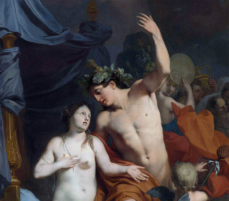 Bacchus and Ariadne (c 1680-d-1)