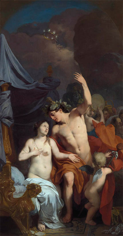Bacchus and Ariadne (c 1680)