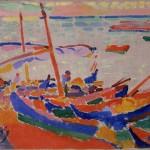 Bateaux de pêche, Collioure (1905)