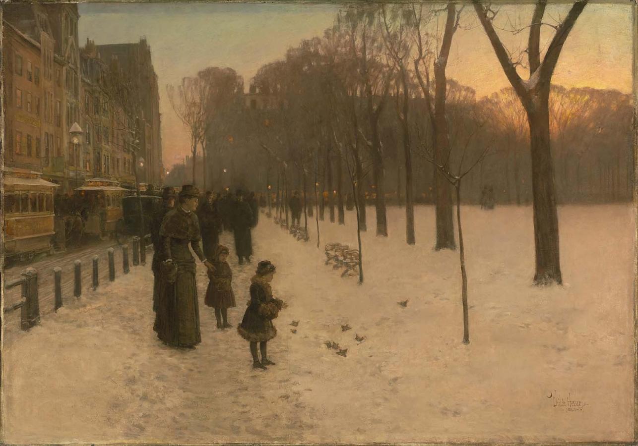 Boston Common at Twilight (1885-1886)