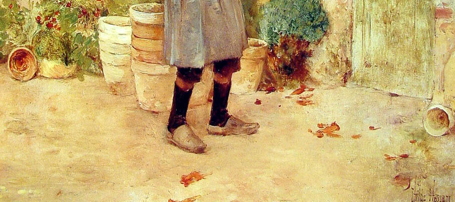 Boy with Flower Pots (1888-d-2)