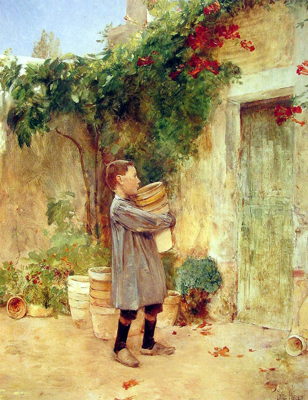Boy with Flower Pots (1888)