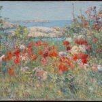 Celia Thaxter's Garden, Isles of Shoals, Maine (1890)