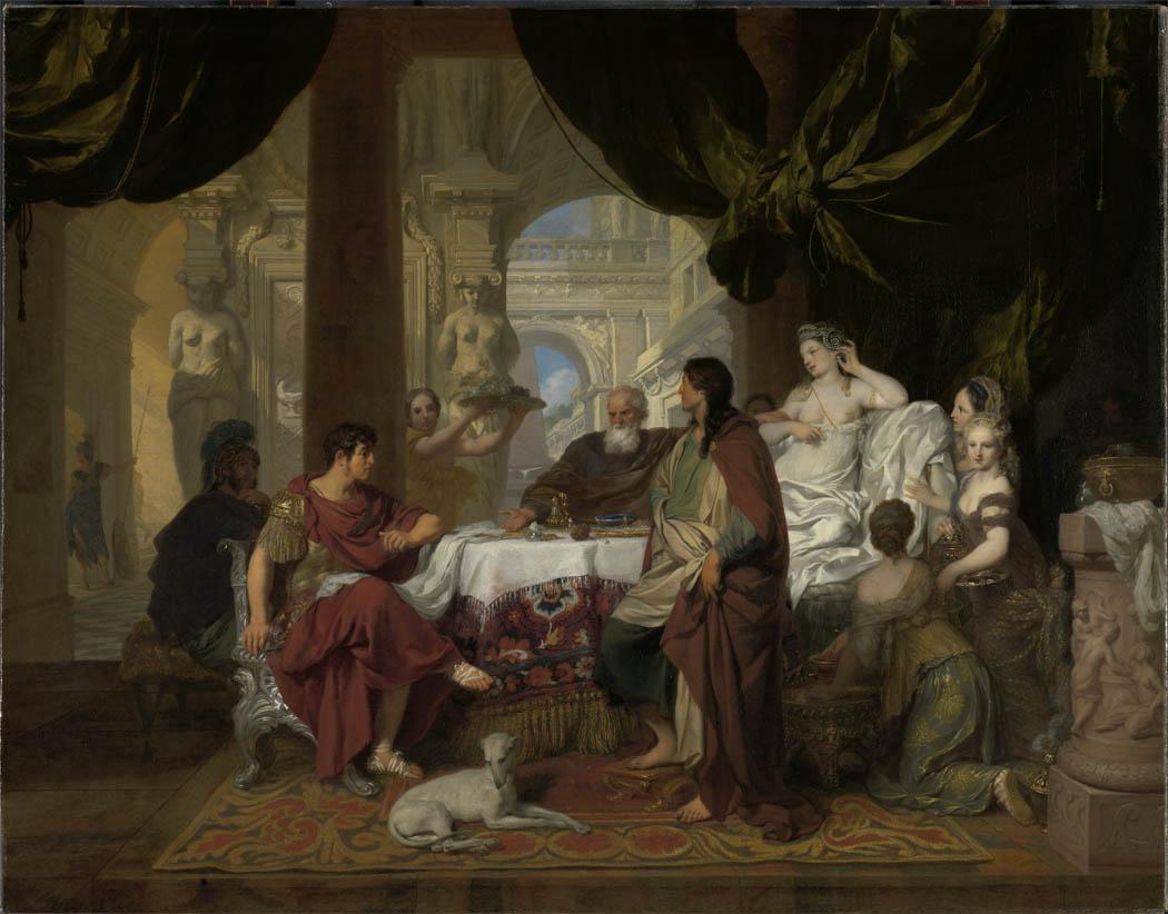 Cleopatra-s Banquet (1675-1680)
