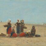 Femmes sur la plage de Berck (1881)