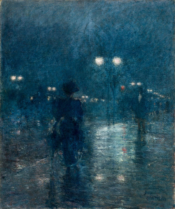 Fifth Avenue Nocturne (c 1895)
