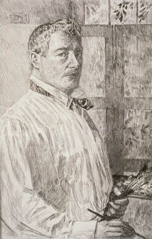 Hassam, Self-portrait (MFA)