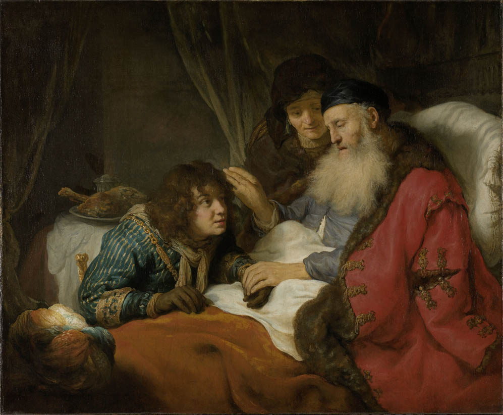 Isaac Blessing Jacob (c 1638)