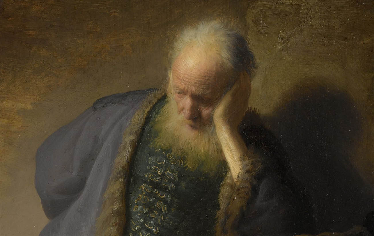 Jeremiah lamenting the destruction of Jerusalem (1630-d-1)
