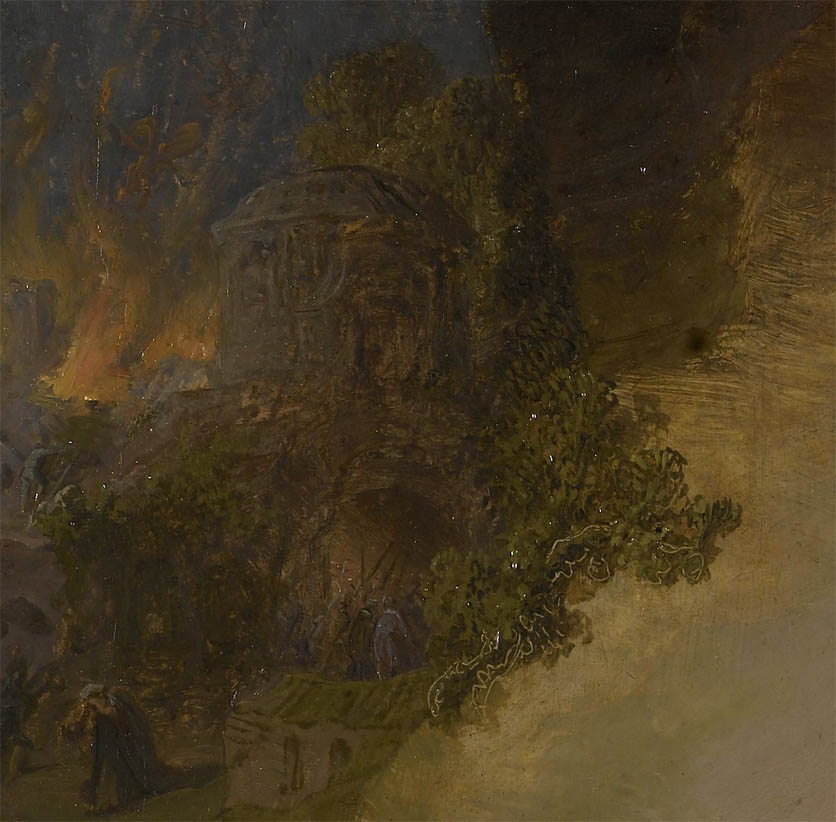 Jeremiah lamenting the destruction of Jerusalem (1630-d-2)