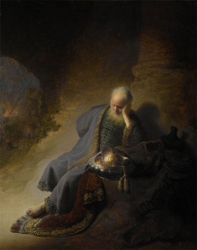 Jeremiah lamenting the destruction of Jerusalem (1630)