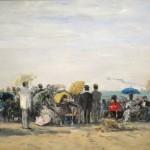 La Plage à Trouville (1873)