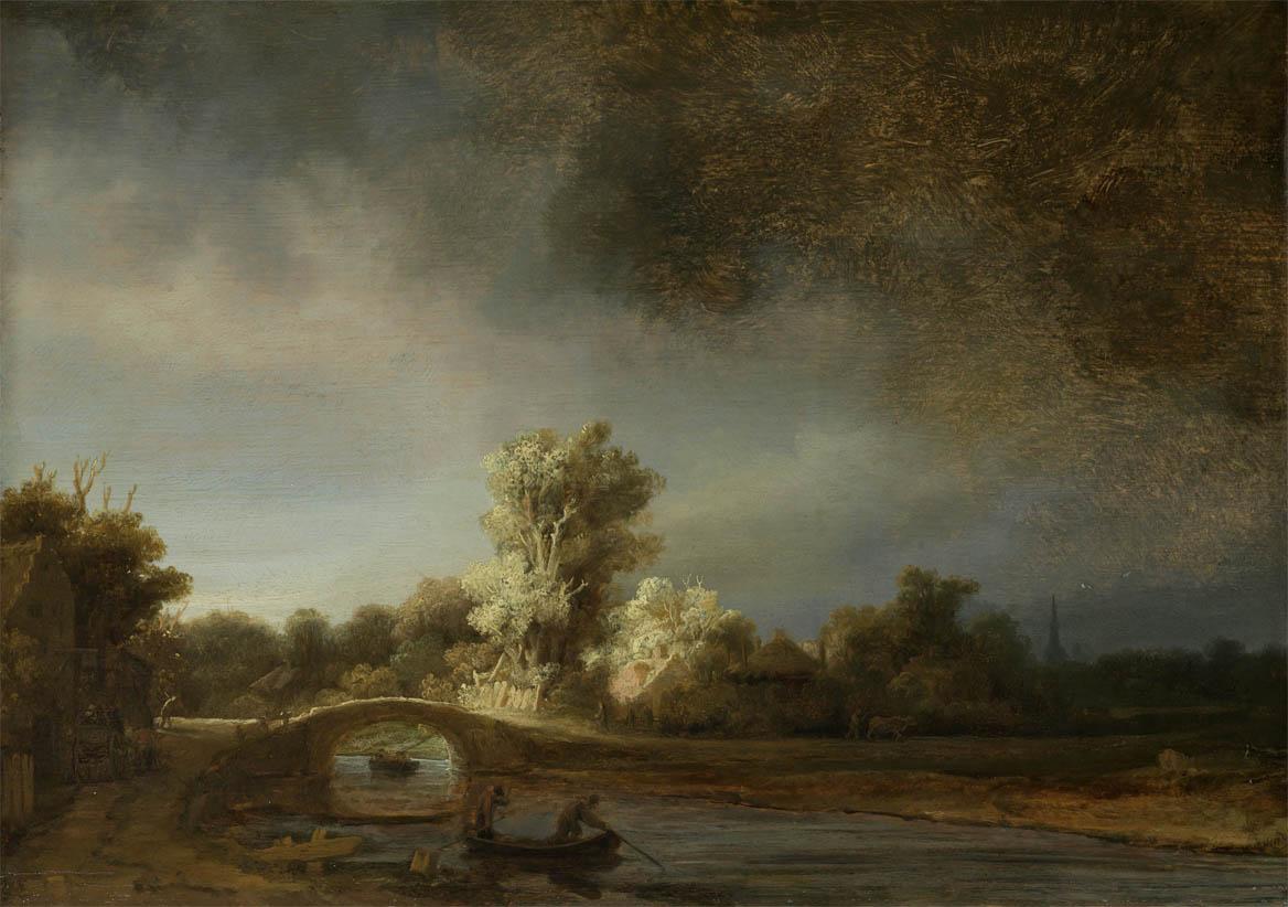 Landscape with a Stone Bridge (1638)