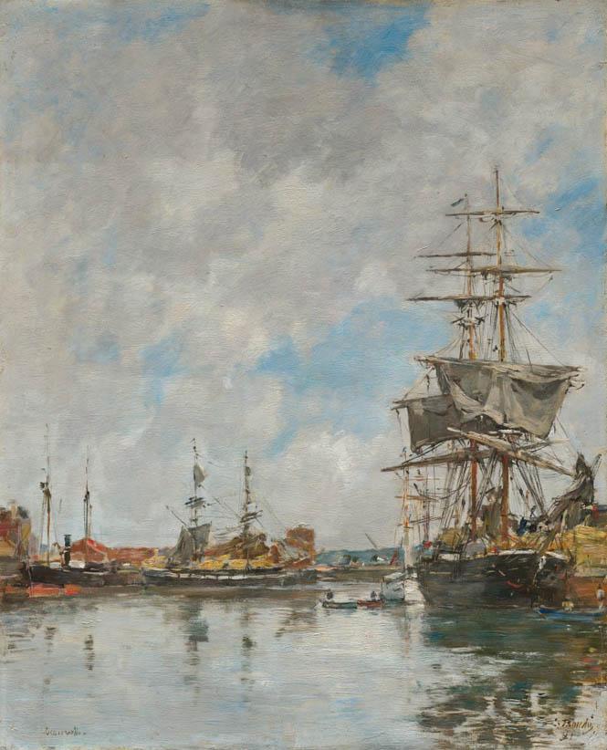 Le Bassin de Deauville (1891)