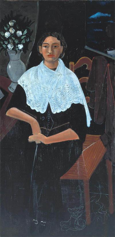 Madame Derain au châle blanc (1919-1920)